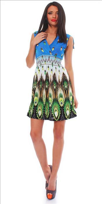 Letní dámské šaty (Dámské šaty)