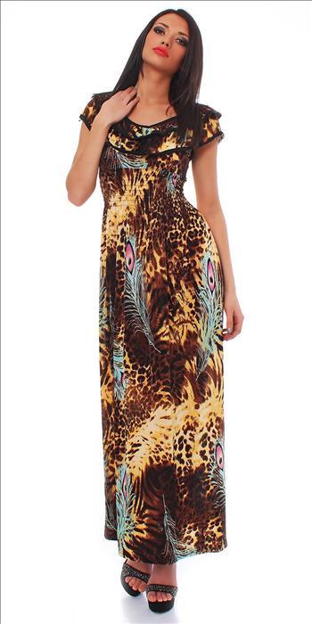 Dámské letní maxi šaty (Dámské šaty)