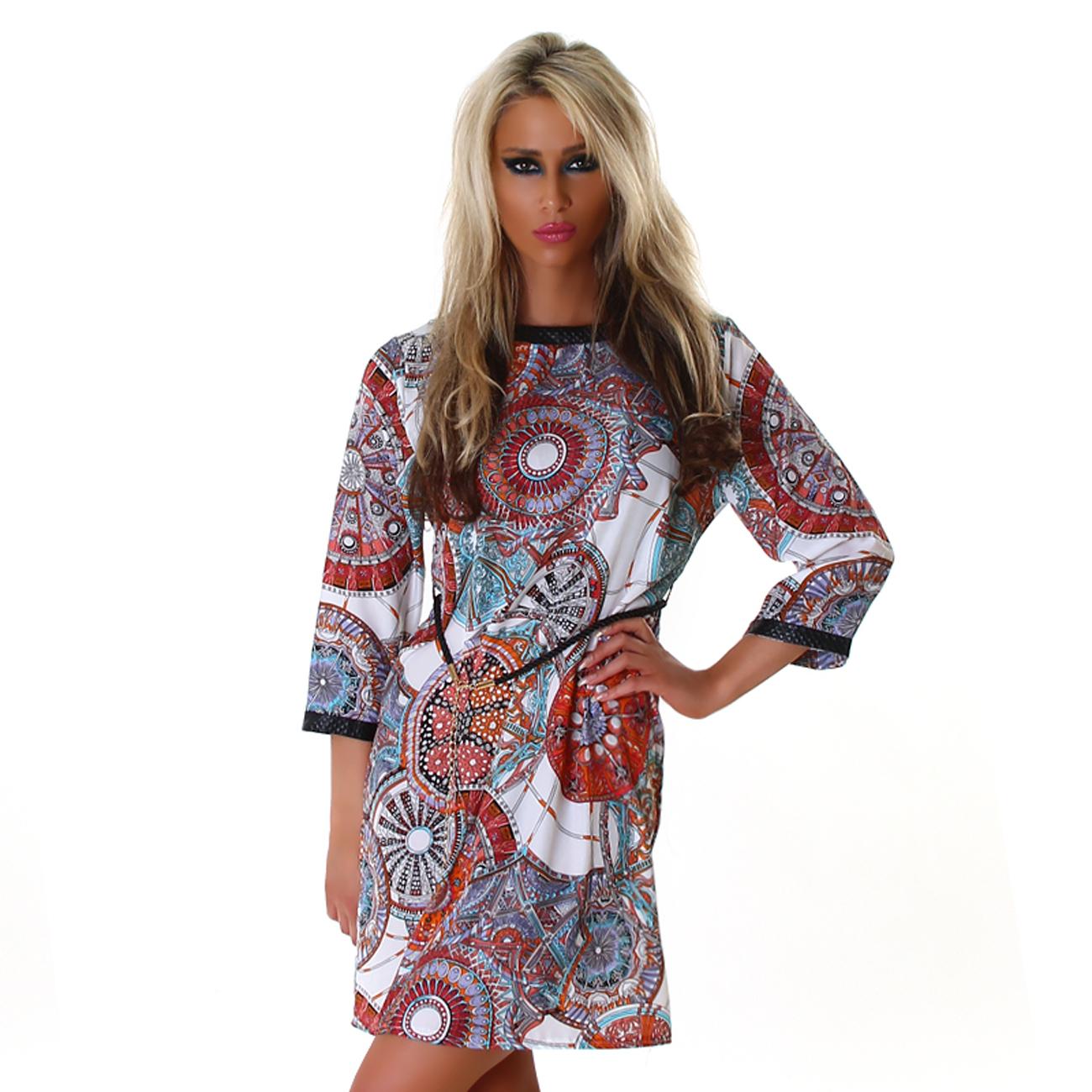 Dámské letní šaty Zn. Jela London - bílé (Dámské šaty)