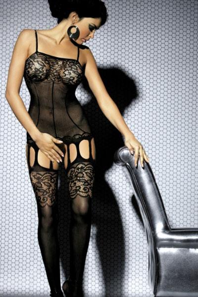 Bodystocking černá (Erotické prádlo)