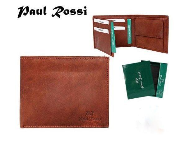 Pánská kožená peněženka - Paul Rossi (Pánská peněženka)