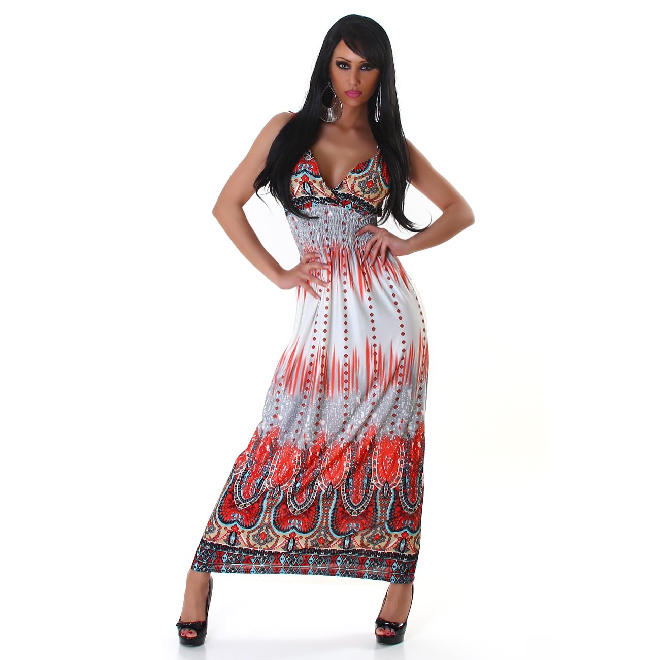 Dámské letní dlouhé šaty GRAFFITH (Dámské šaty)
