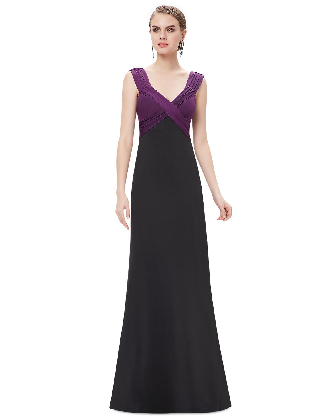 Ever Pretty plesové dlouhé šaty fialová (Dámské šaty)