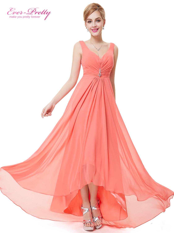 Ever Pretty plesové a společenské šaty coral (Dámské šaty)