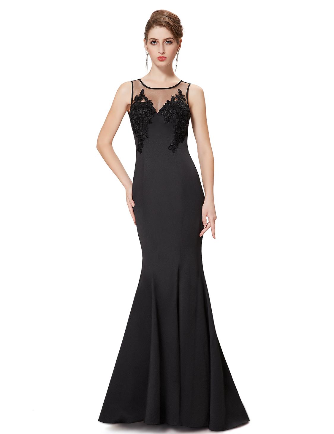 Ever Pretty plesové a společenské šaty černá (Dámské šaty)