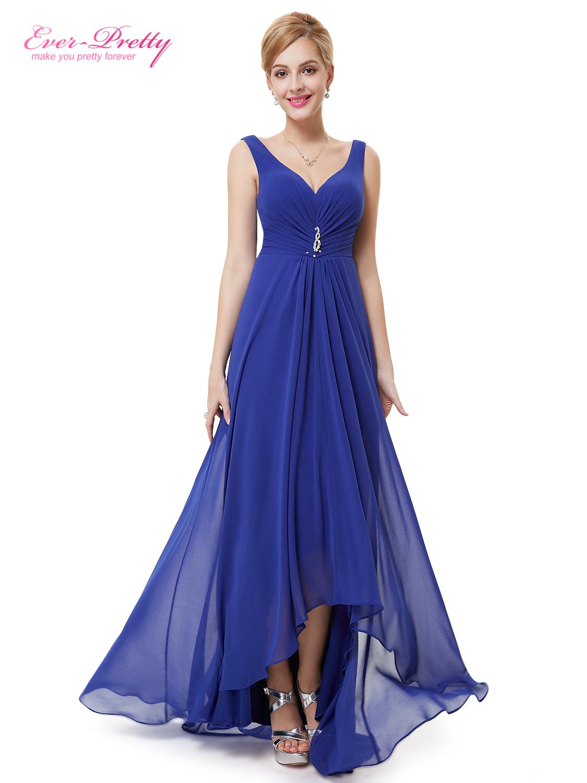 Ever Pretty plesové a společenské šaty modrá (Dámské šaty)
