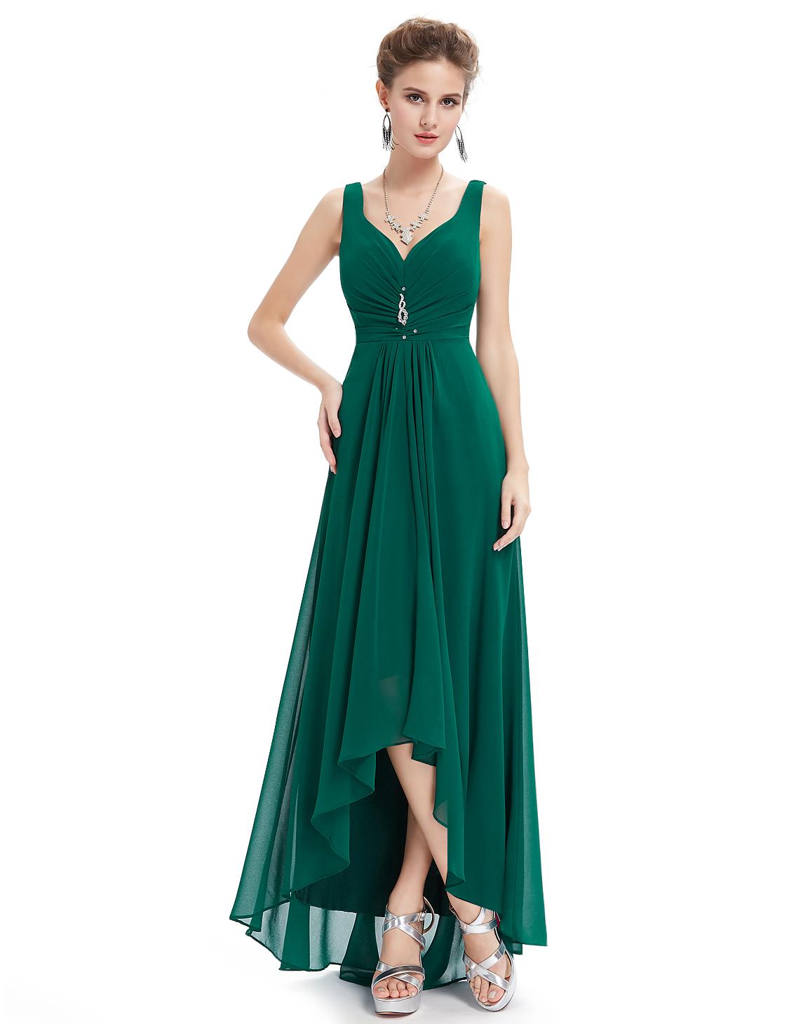 Ever Pretty plesové a společenské šaty zelená (Dámské šaty)