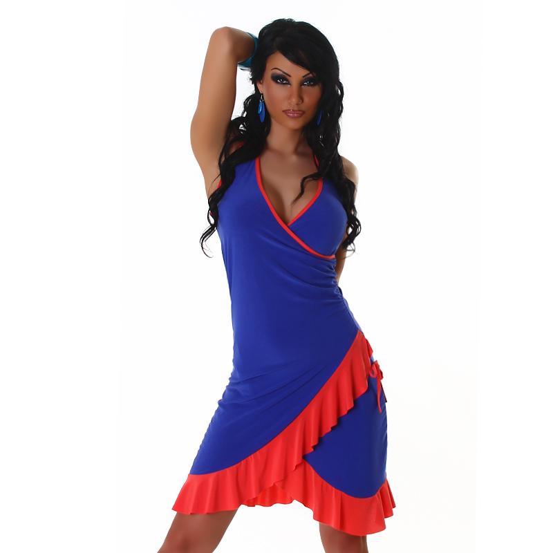 Letní šaty Jela London - modrá (Dámské šaty)