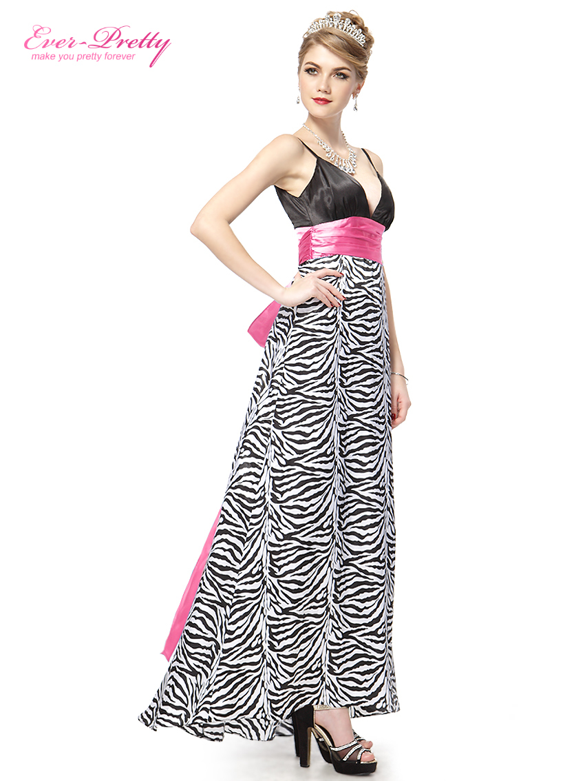 Ever Pretty plesové dlouhé šaty 17EVHE09010 černá (Dámské šaty)