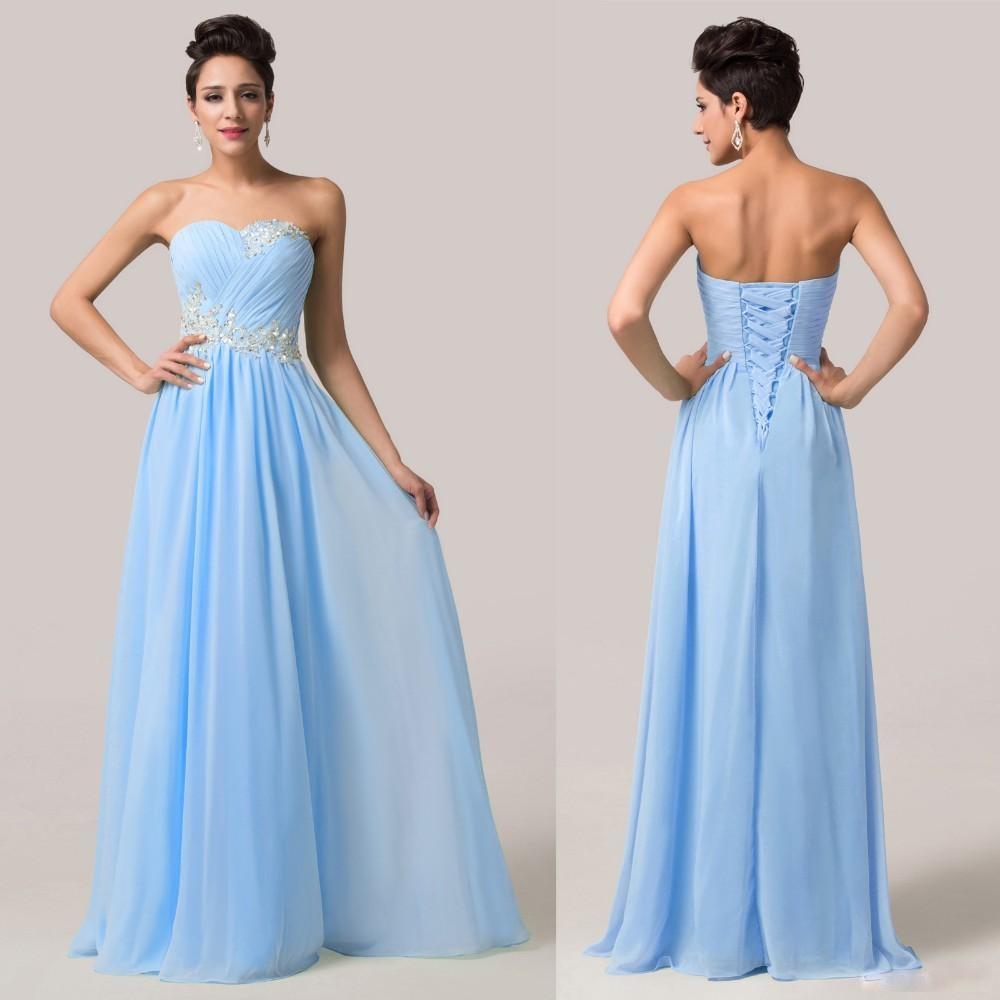 Luxusní plesové a společenské GRACE KARIN® GK6107 modrá 8dd59aab0c