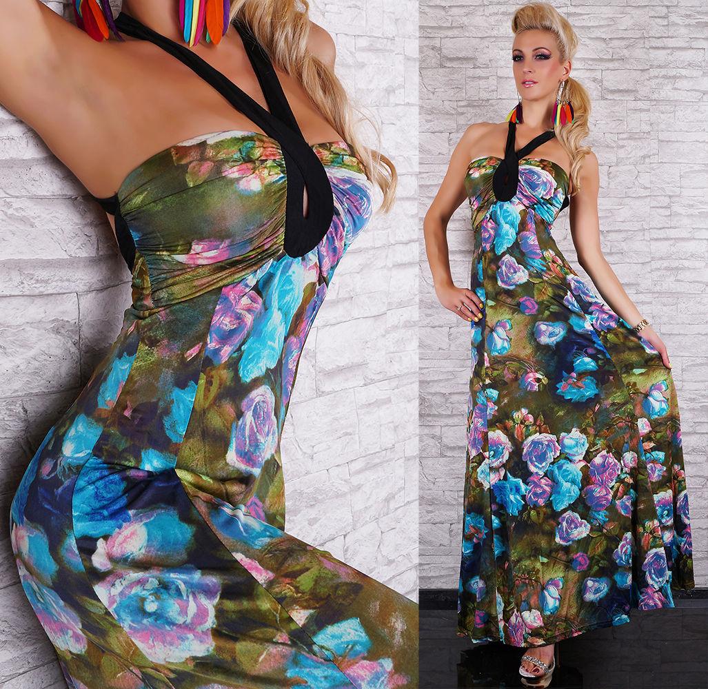 39c7df426fe Dámské letní dlouhé šaty Panacher
