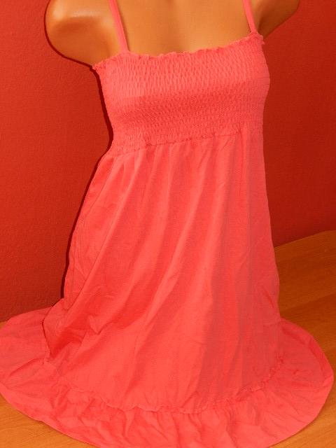 Dámské šaty s volánkem vel. S/M (Dámské šaty)