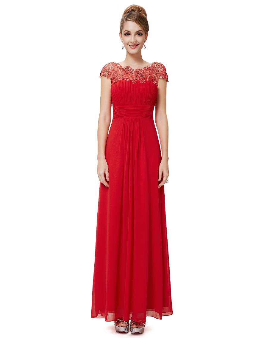 bfc2d9d23076 Ever Pretty plesové a společenské šaty 59EV červená