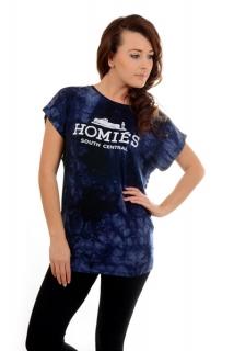 Dámské tričko s nápisem modré empty 6d390ad56f