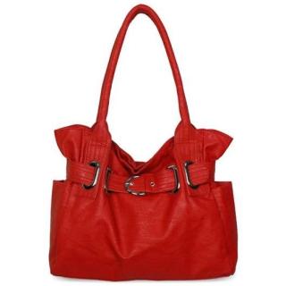 bb91a9bc7c LS fashion dámská kabelka LS00199 červená empty