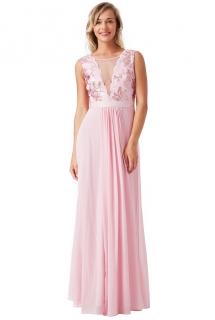 Plesové a společenské šaty s flitry Zn. GODDIVA růžová ... 398aa37993